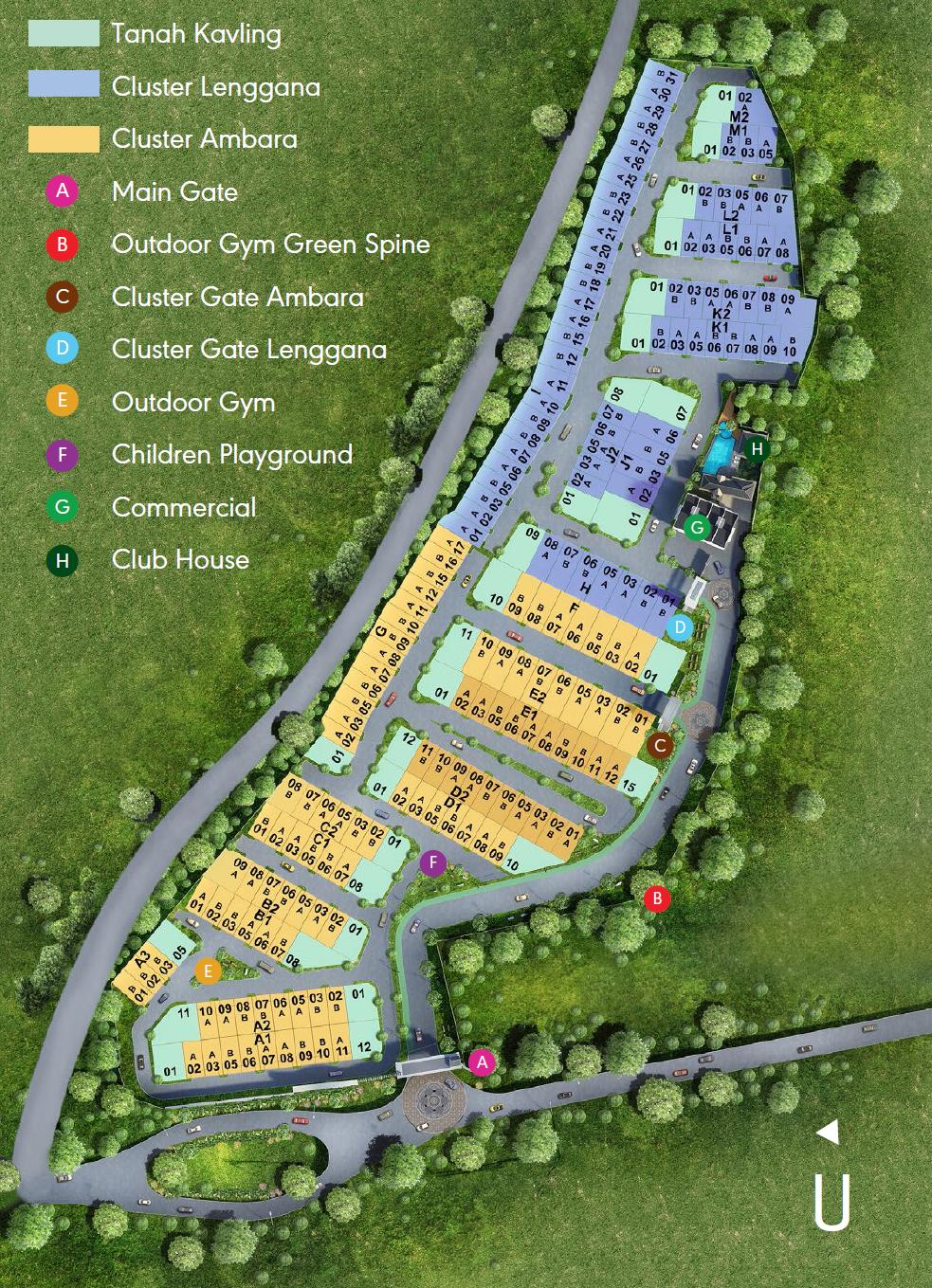 Banara Serpong Site Plan